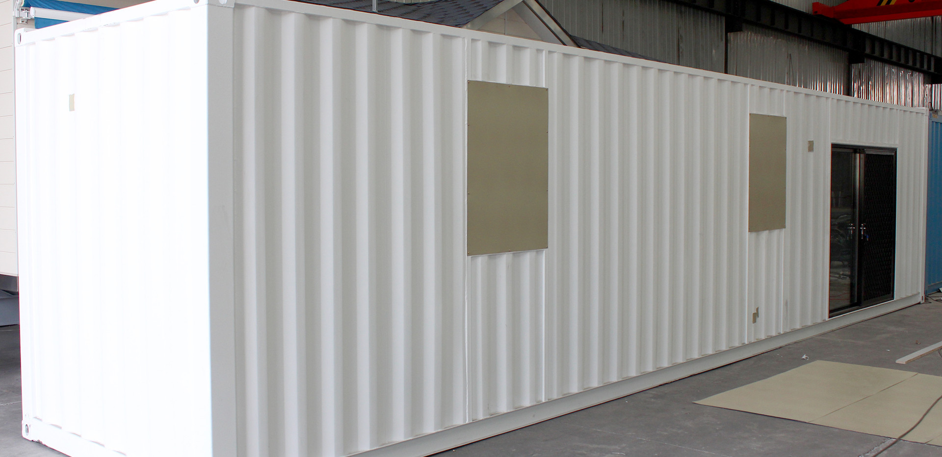 Eugera Industries Container building Typ