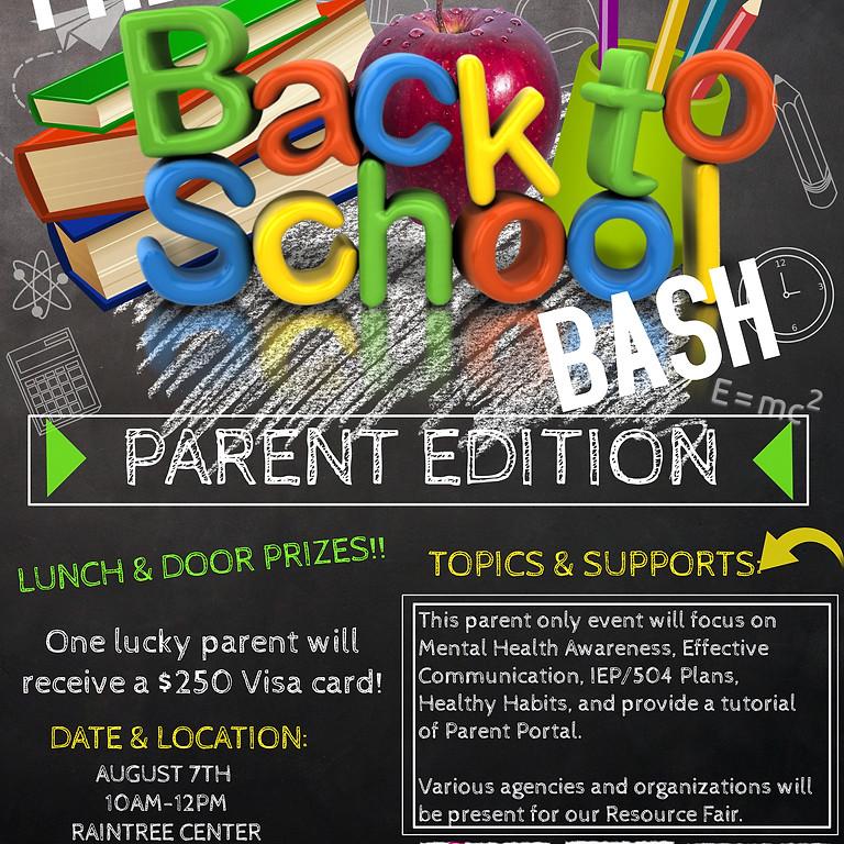 Back 2 School Bash-Parent Edition