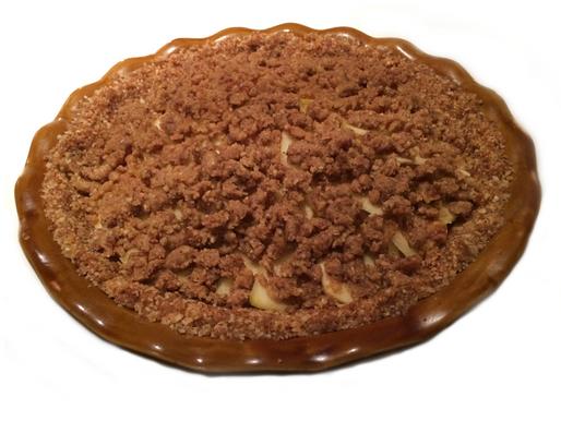 Crisp Raw Apple Pie Recipe
