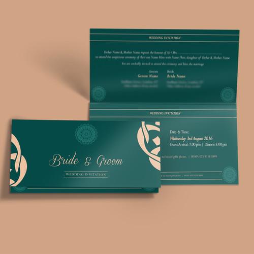 Wedding Invitation Cards - Stunning Wedding Invitations With Bespoke
