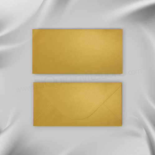 Gold Invitation Envelope DL Size