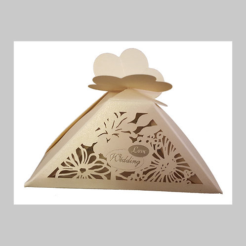 Royal Gold Laser Cut Favour (Gold) LC009