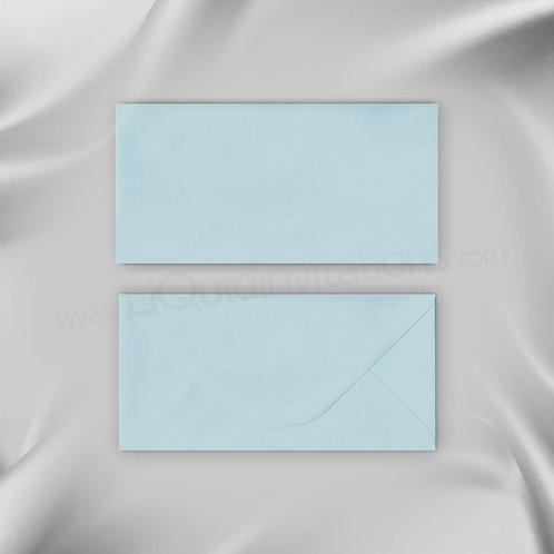 Pastel Blue DL envelope