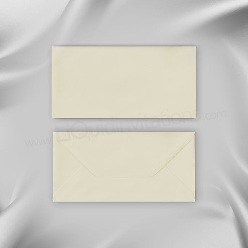 DL Invitation Style Envelope - Ivory