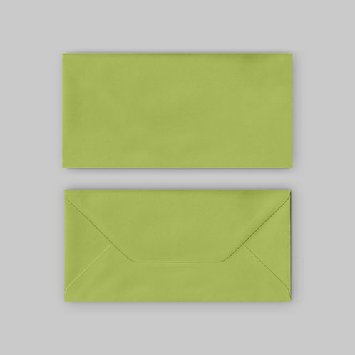 Lime colour DL envelope