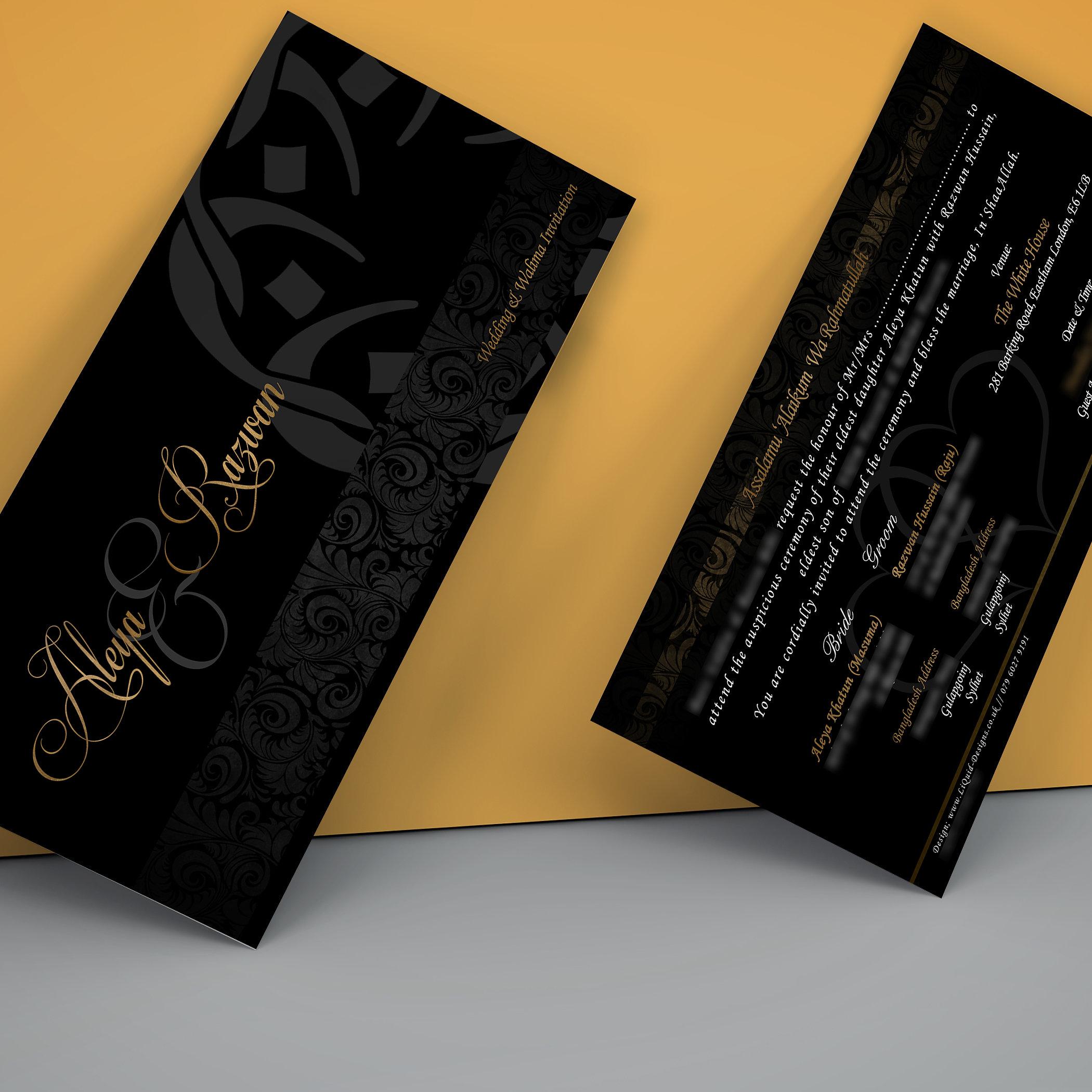 Wedding Cards Mehndi Cards Uk Liquid Invitations Sample