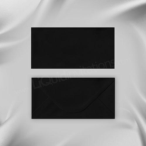 Black DL Envelope