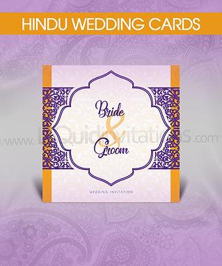 Personalised Hindu Wedding Cards