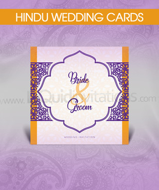Personalised Hindu Wedding Cards