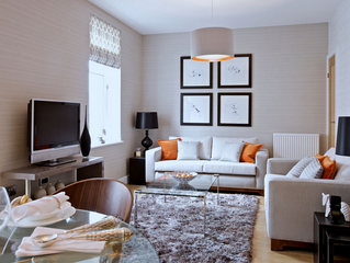 4 Tips For Making Your Small Living Room Look Larger!