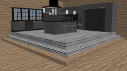 La foret de beton- Kitchen