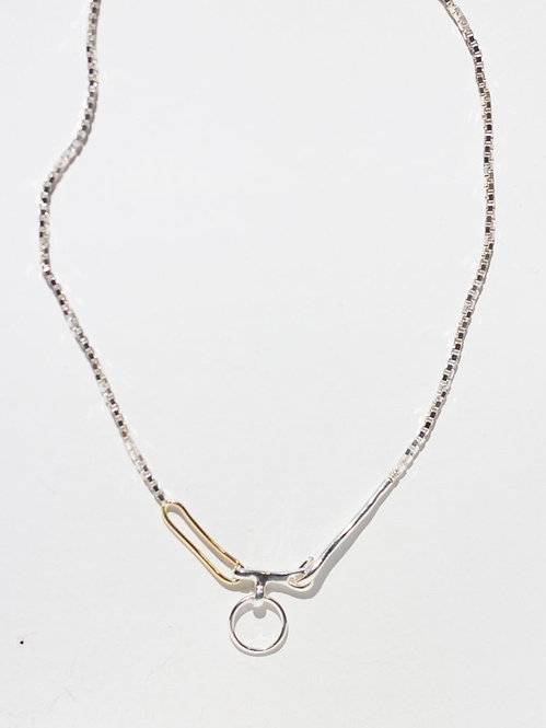 KNOBBLY | Twin Link Necklace