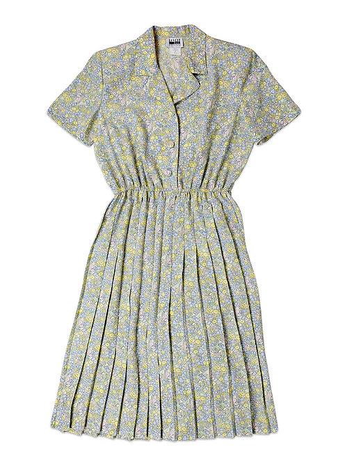 VINTAGE | Pastel Floral Dress