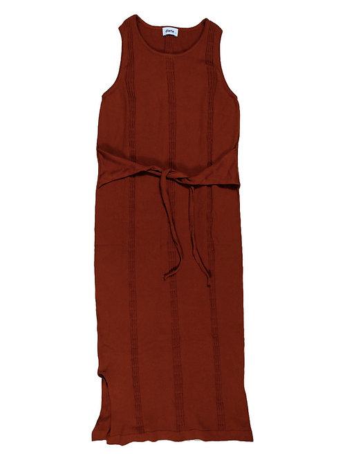 DIARTE    Manuela Dress Brick