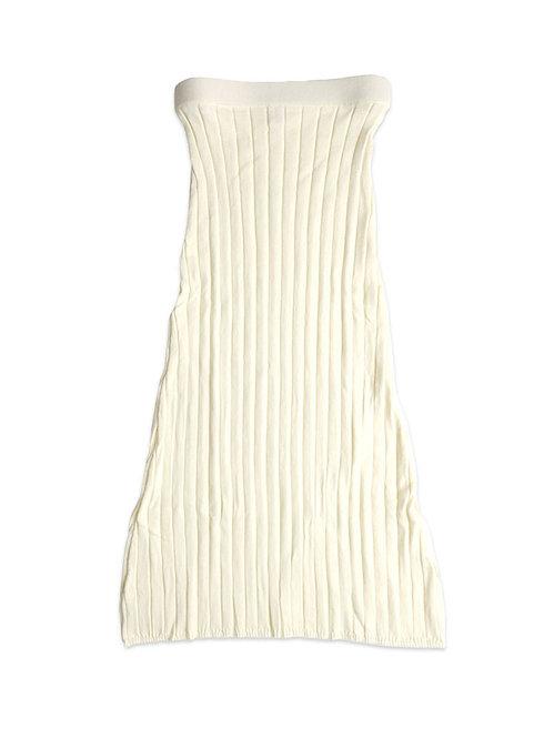 DIARTE    Roman Skirt White