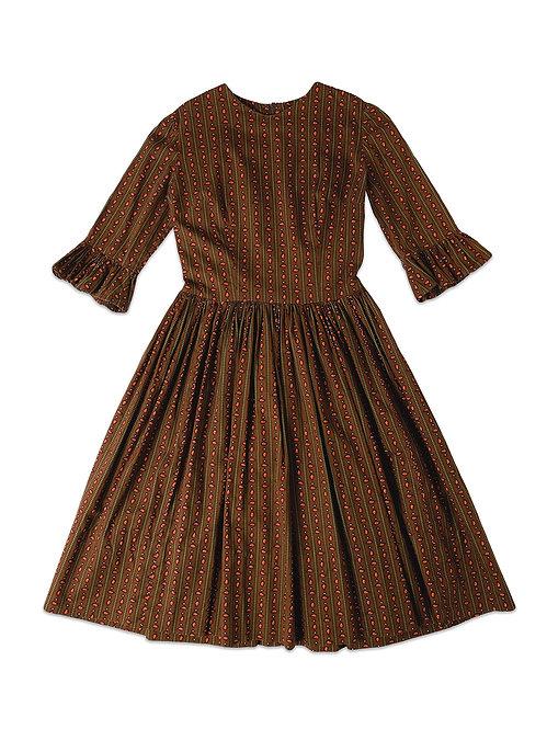 VINTAGE   Printed Cotton Dress