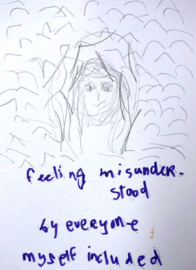 anonymous note from student