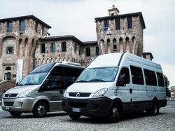 Noleggio autobus con conducente Cento Ferrara. Navette per discoteche.