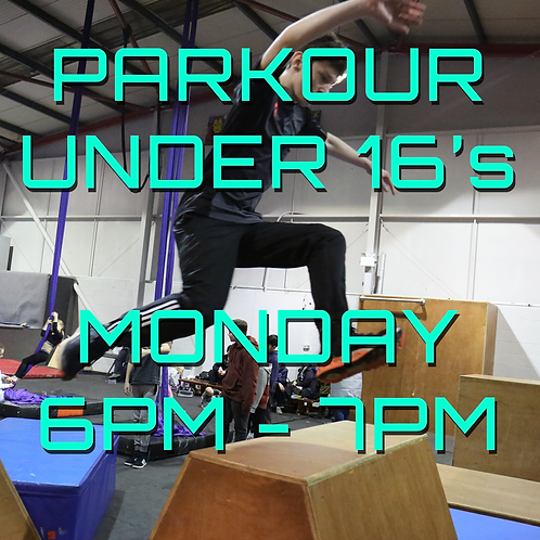 Monday 5pm - 6pm Under 16's