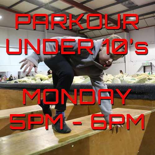 Monday 5pm - 6pm Under 10's