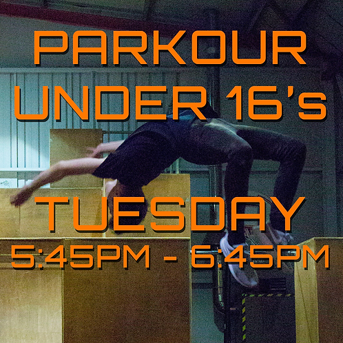 Tuesday 5:45pm - 6:45pm Under 16's