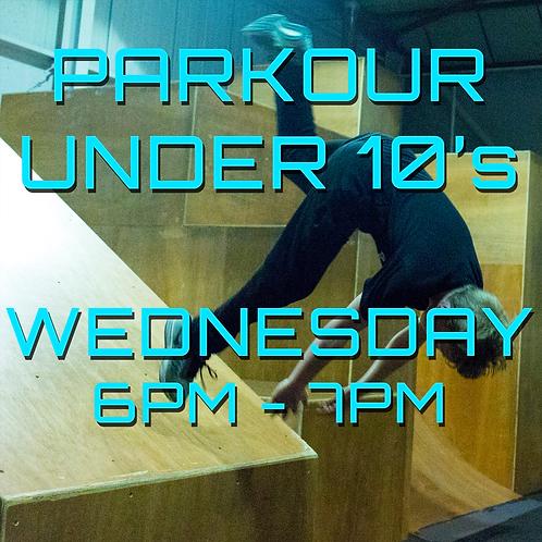 Wednesday 6pm - 7pm Under 10's