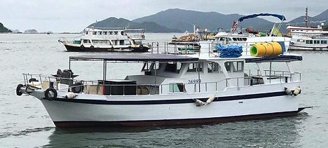 Unity 40 person junk boat hk yachting.jp