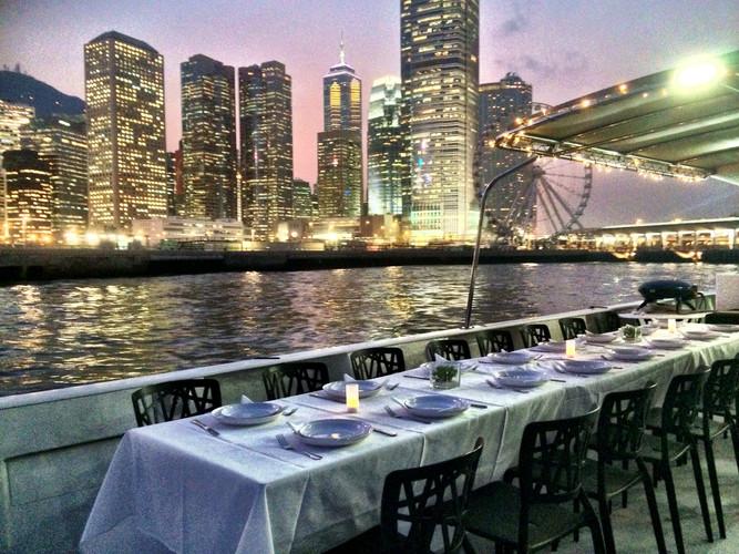 Hong Kong wedding reception party