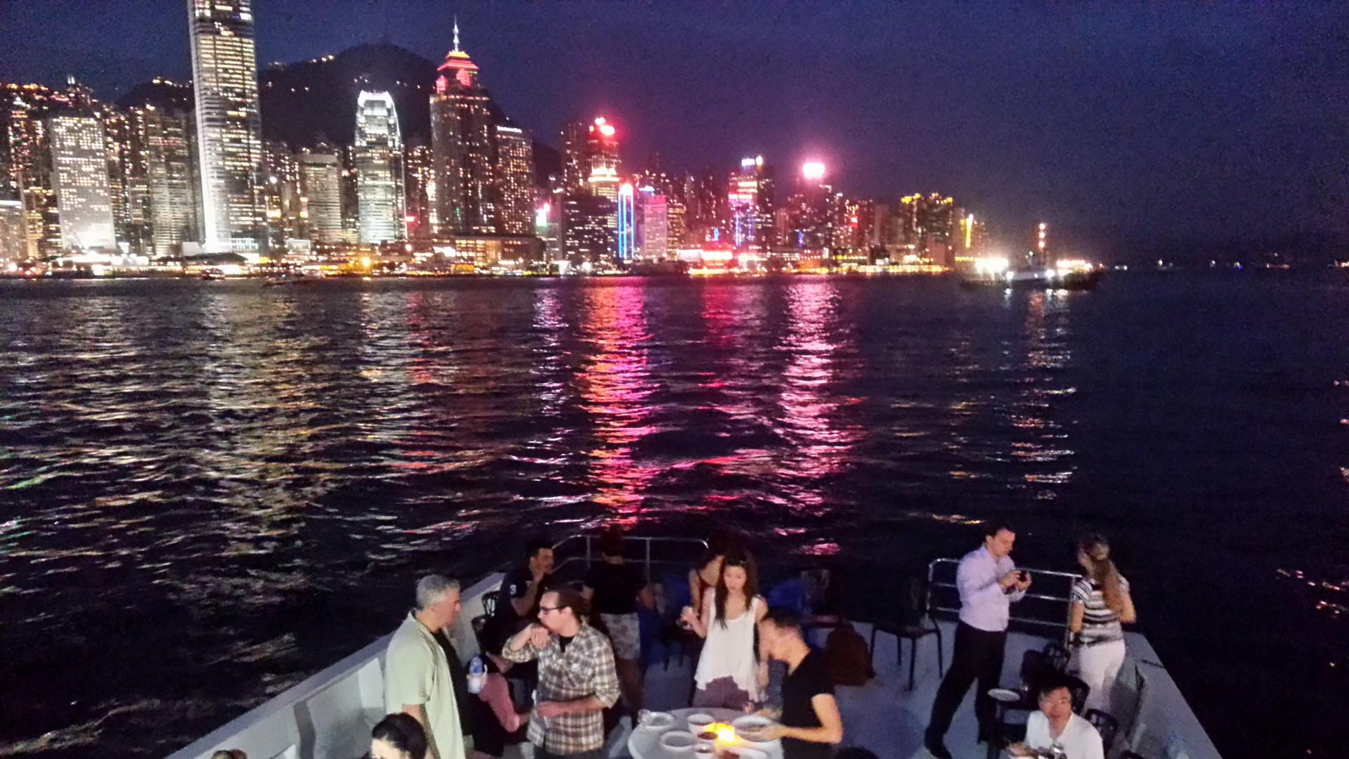 Outdoor wedding venue in Hong Kong