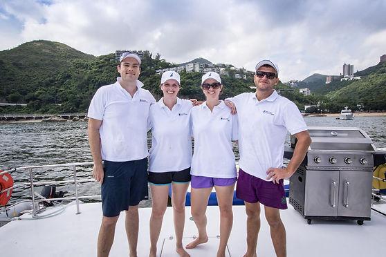 Hong Kong Yachting Boat Crew