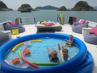 5 Tips For Yacht Charter With Kids in Hong Kong