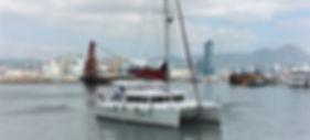 Charter Lagoon catamaran Hong Kong Yacht