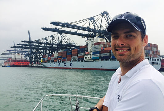 James Hargraves container port tour.jpg