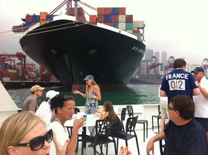 James Hargraves , Tour guide on the Container Port Tour
