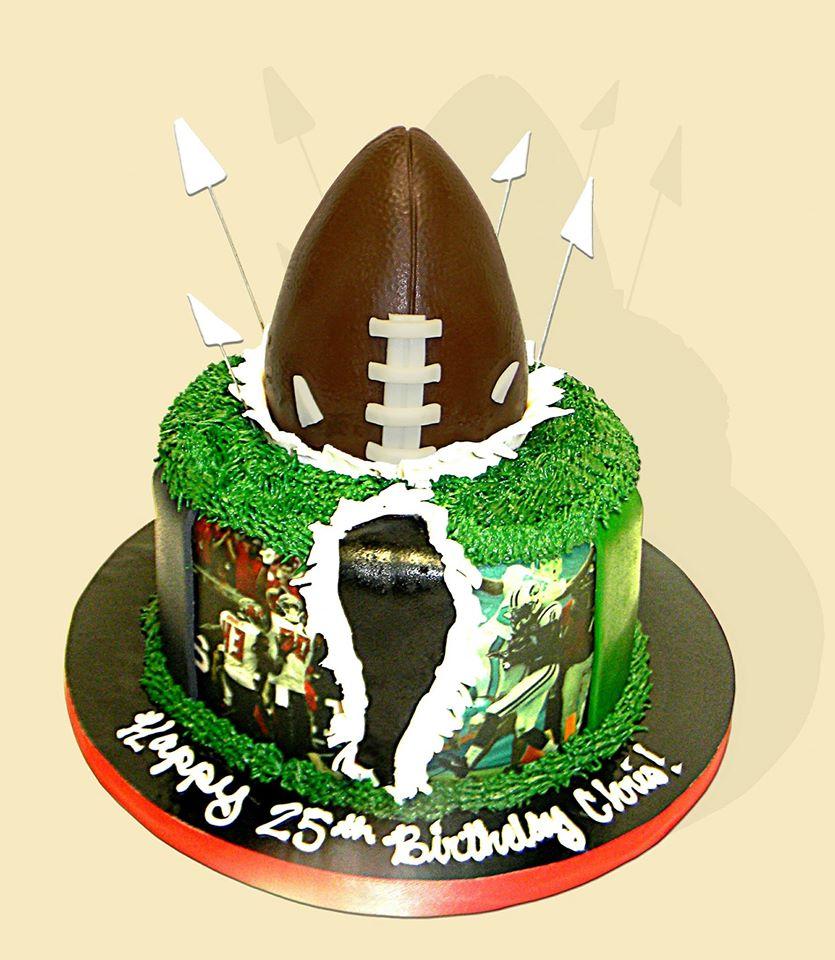 Bucs Cake