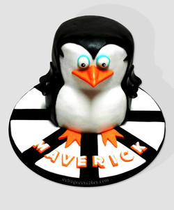 Madagascar Penguin Cake