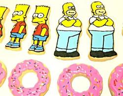 Simpsons Cookies