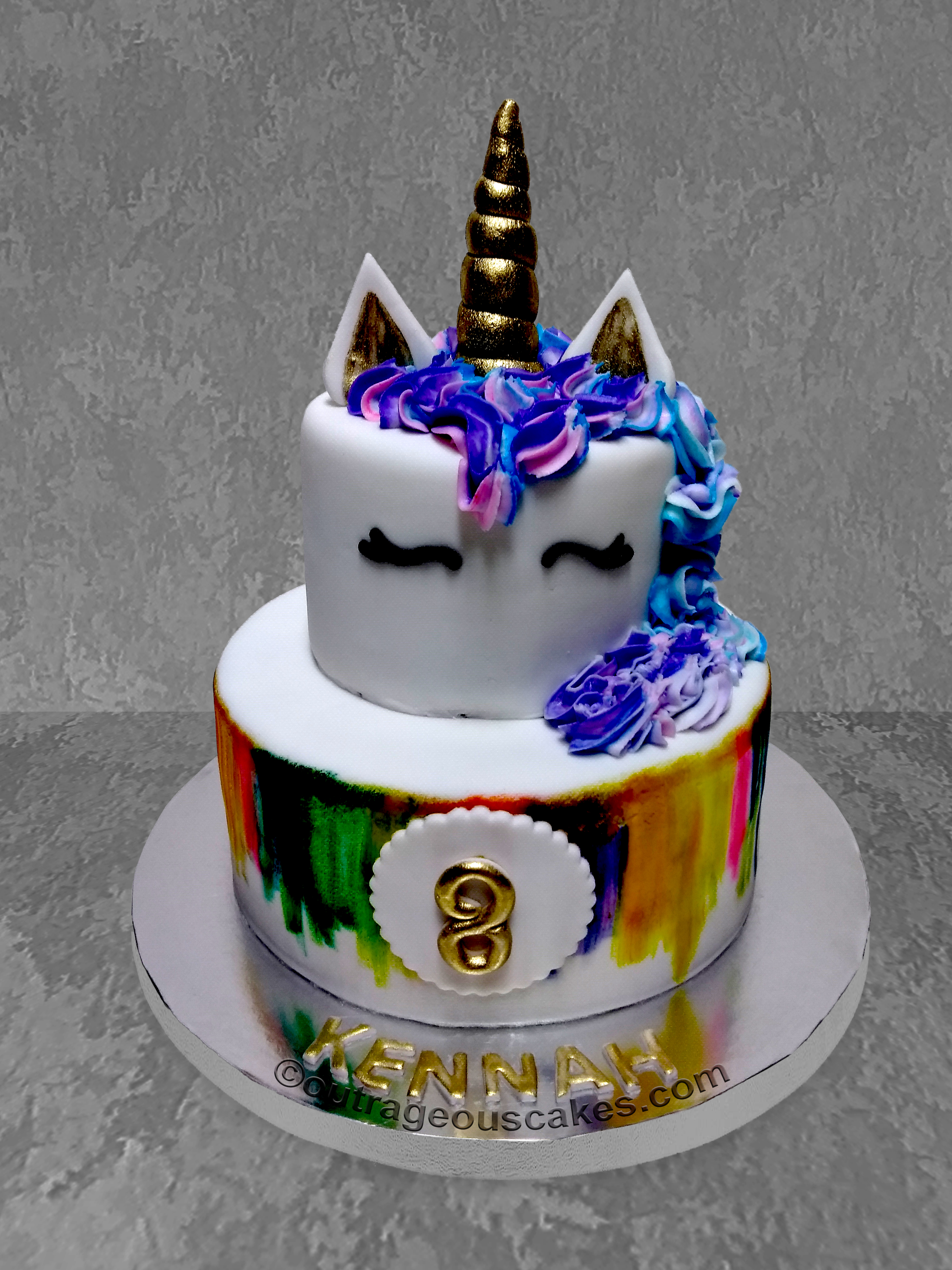 Watch Your Childs Eyes Light Up With Excitement When He Or She Sees Their Awesome Custom Birthday Cake From Outrageous Cakes Contact Us Today