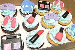 Make up Themed Cupcakes