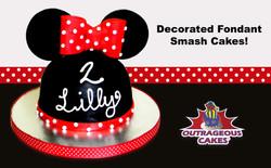 Decorated Fondant Smash Cakes