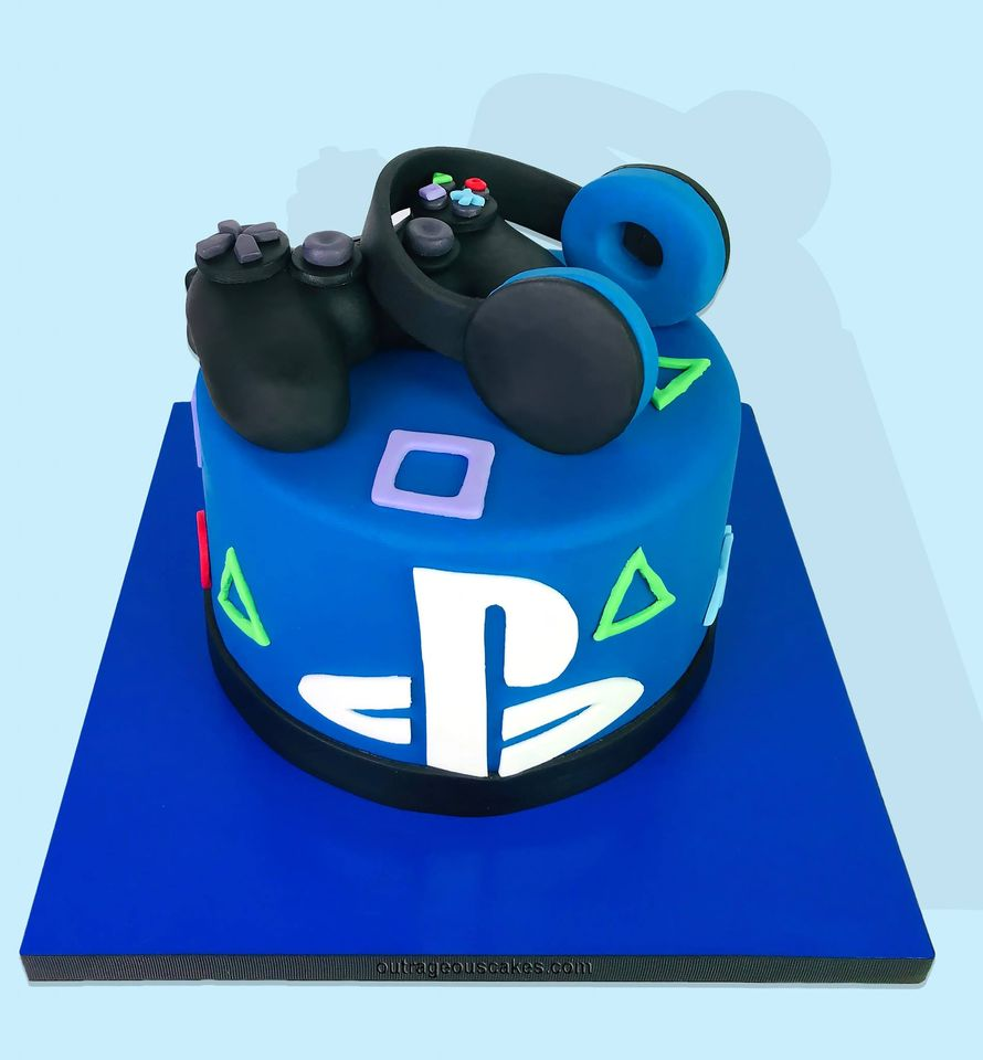 Play Station Cake
