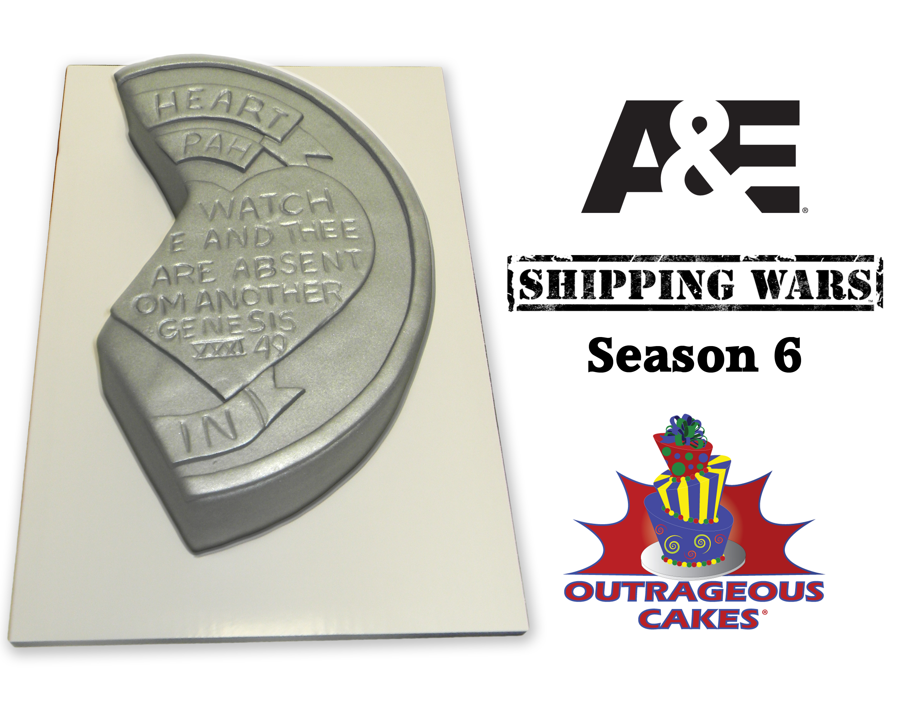 A & E Shipping Wars Cake