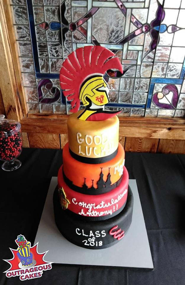 University of Tampa Grad Cake