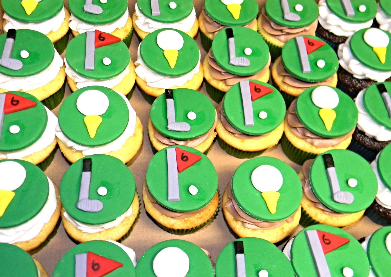 Golf Cupcakes