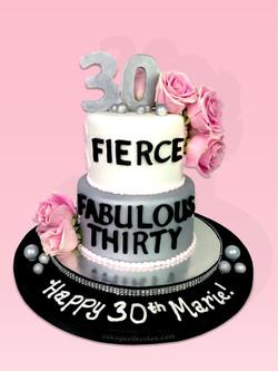 Female Adult Birthday Cake #2