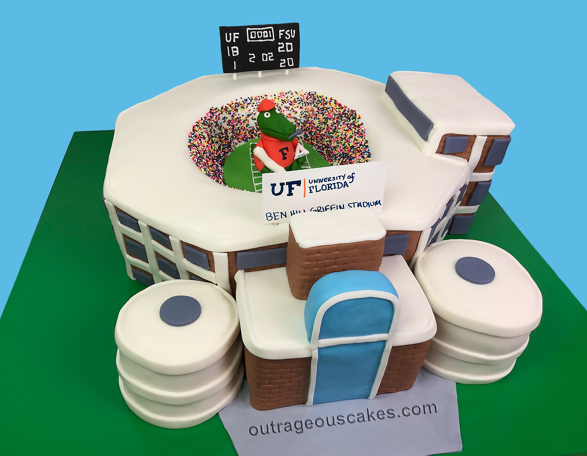 UF Stadium Cake