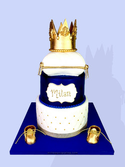 Little Prince Baby Shower Cake