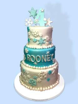 Winter Wonderland Themed Cake