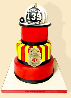 Firefighters Cake