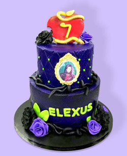 Descendants Cake